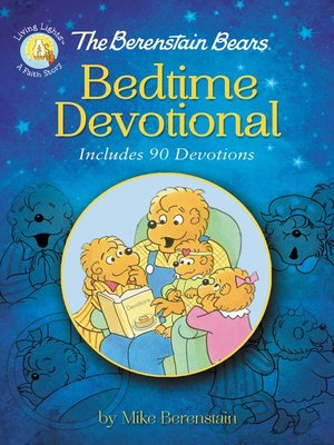 cover image of The Berenstain Bears Bedtime Devotional