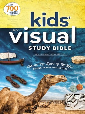 cover image of NIV, Kids' Visual Study Bible, Full Color Interior