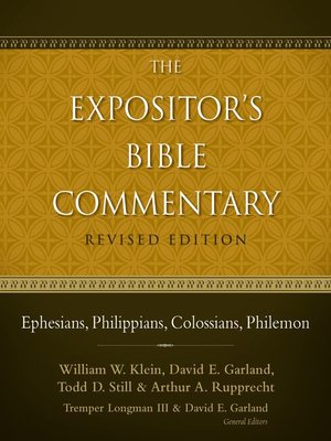 Ephesians philippians colossians philemon by william w klein ephesians philippians colossians philemon fandeluxe Images