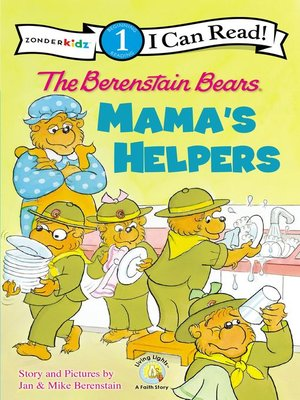 cover image of The Berenstain Bears Mama's Helpers