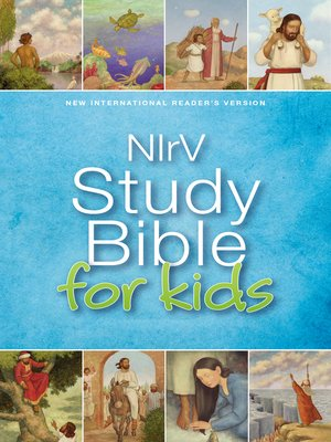 cover image of NIrV, Study Bible for Kids