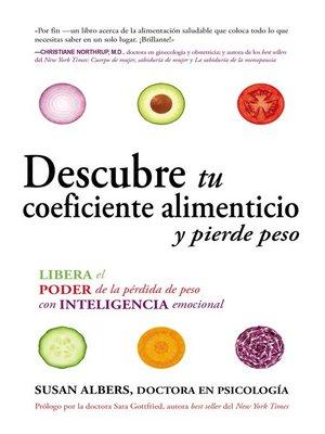 cover image of Descubre tu coeficiente alimenticio y pierde peso