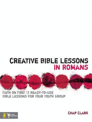cover image of Creative Bible Lessons in Romans