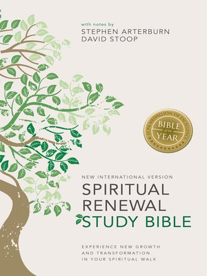 cover image of NIV Spiritual Renewal Study Bible