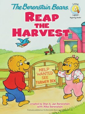 cover image of The Berenstain Bears Reap the Harvest