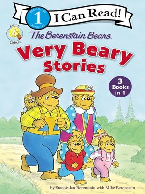 cover image of The Berenstain Bears Very Beary Stories