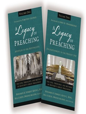 cover image of A Legacy of Preaching