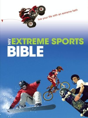 cover image of Extreme Sports Bible, NIV