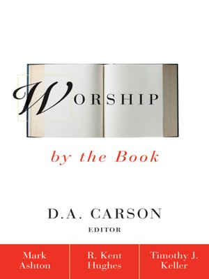 cover image of Worship by the Book