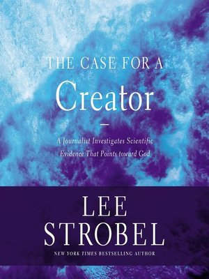 cover image of The Case for a Creator