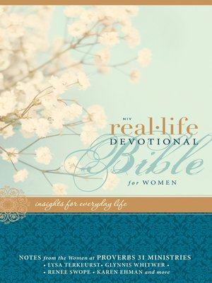 cover image of NIV Real-Life Devotional Bible for Women