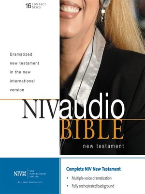 cover image of NIV Dramatized Audio New Testament