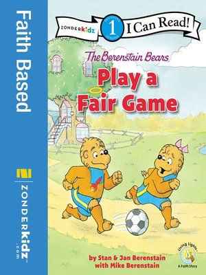 cover image of The Berenstain Bears Play a Fair Game