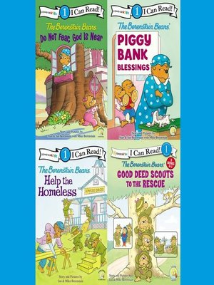 cover image of The Berenstain Bears I Can Read Collection 1