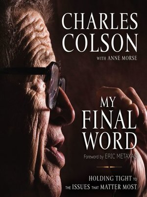 cover image of My Final Word