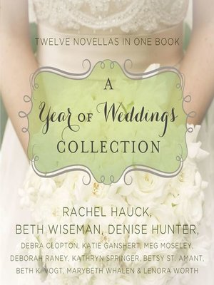 cover image of A Year of Weddings