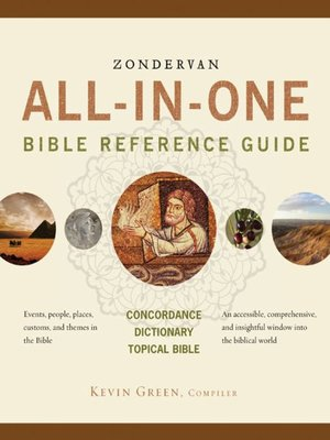 cover image of Zondervan All-in-One Bible Reference Guide