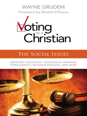 cover image of Voting as a Christian