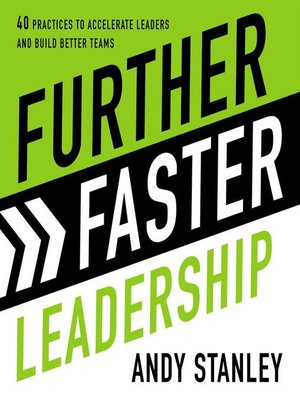 cover image of Further Faster Leadership