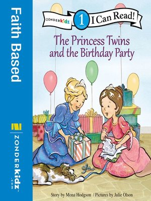 cover image of The Princess Twins and the Birthday Party