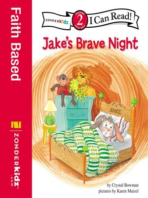 cover image of Jake's Brave Night