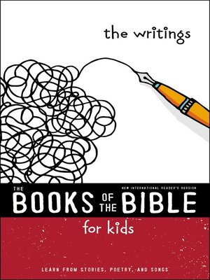 cover image of NIrV, the Books of the Bible for Kids, The Writings