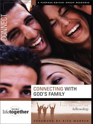 cover image of Connecting with God's Family