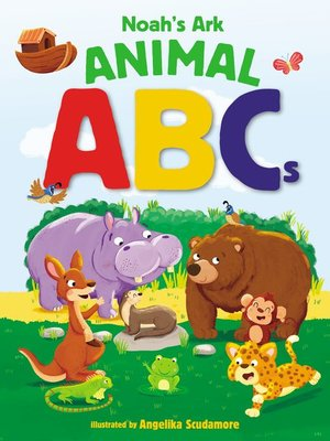 cover image of Noah's Ark Animal ABCs