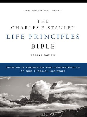 cover image of NIV, Charles F. Stanley Life Principles Bible, 2nd , Ebook