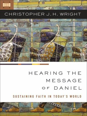 cover image of Hearing the Message of Daniel