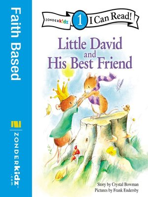 cover image of Little David and His Best Friend