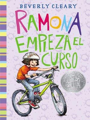 cover image of Ramona empieza el curso