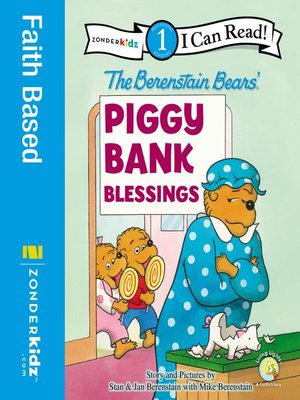 cover image of Berenstain Bears' Piggy Bank Blessings