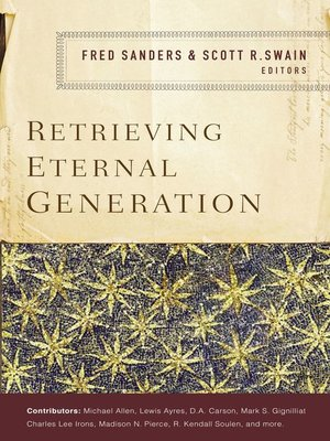 cover image of Retrieving Eternal Generation