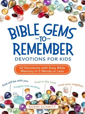 cover image of Bible Gems to Remember Devotions for Kids