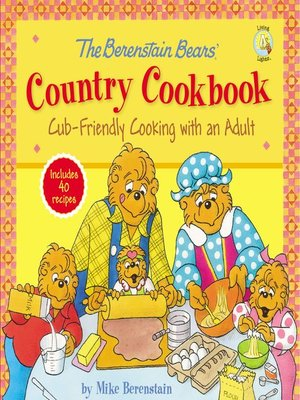 cover image of The Berenstain Bears' Country Cookbook