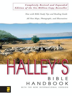 cover image for halleys bible handbook with the new international version