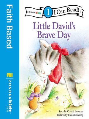 cover image of Little David's Brave Day