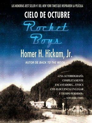 cover image of Cielo de octubre (Rocket Boys)