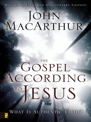 cover image of The Gospel According to Jesus