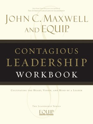 cover image of Contagious Leadership Workbook