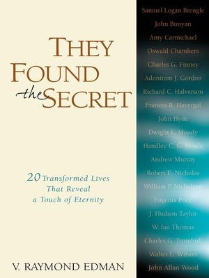 cover image of They Found the Secret