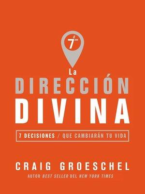 cover image of La dirección divina