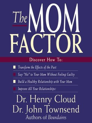 cover image of The Mom Factor