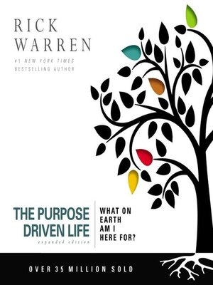 cover image of The Purpose Driven Life