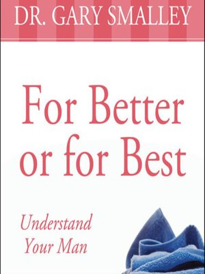 cover image of For Better or for Best