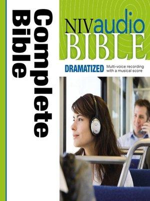 cover image of NIV Audio Bible, Dramatized