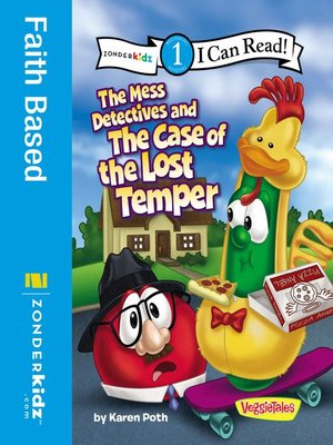 cover image of The Mess Detectives and the Case of the Lost Temper
