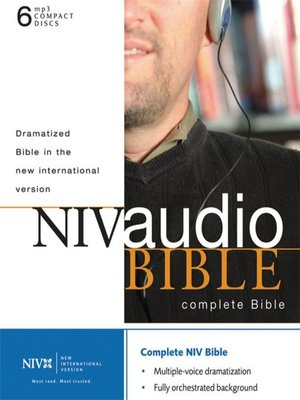 cover image of NIV Dramatized Audio Bible