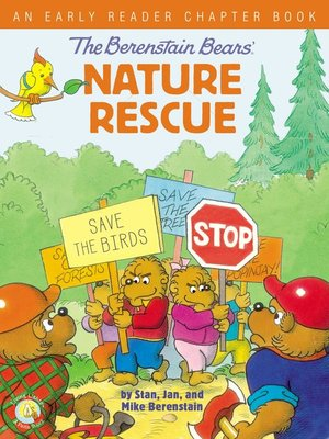 cover image of The Berenstain Bears' Nature Rescue
